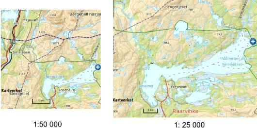 norge kart målestokk Målestokk norge kart målestokk